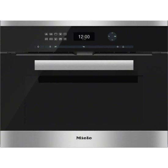 H 6401 BP Cuptor electric, 45 cm, Inox - Miele